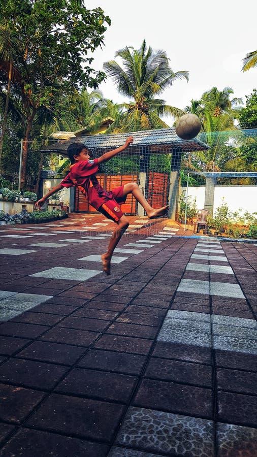 Flip kick. Football photography fahzin& x27;s photography. Fahzins royalty free stock photos