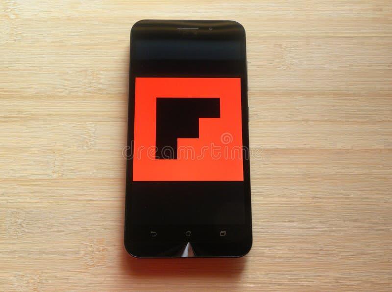 Flipboard 免版税库存图片