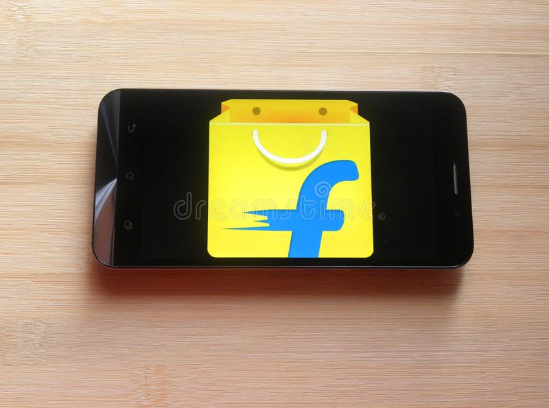 Flipkart app zdjęcie stock