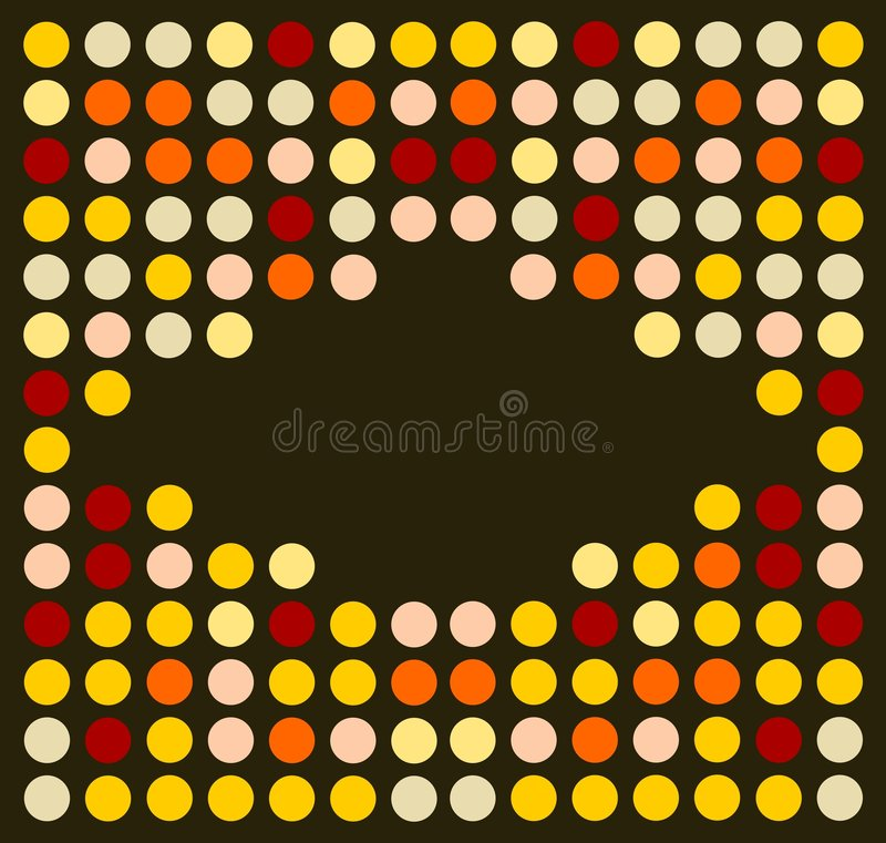 Flippige Retro- Disco-Art stock abbildung