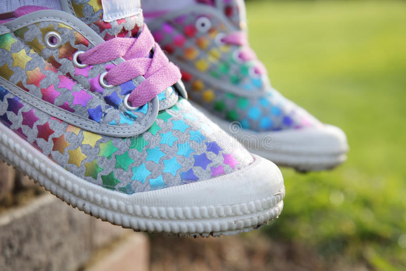 Flippige Schuhe. lizenzfreie stockfotos