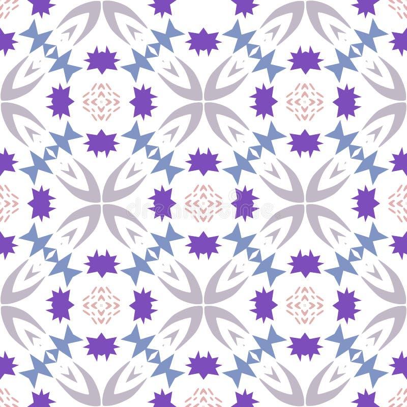 Flippiges geometrisches wiederholendes Muster lizenzfreie stockfotos