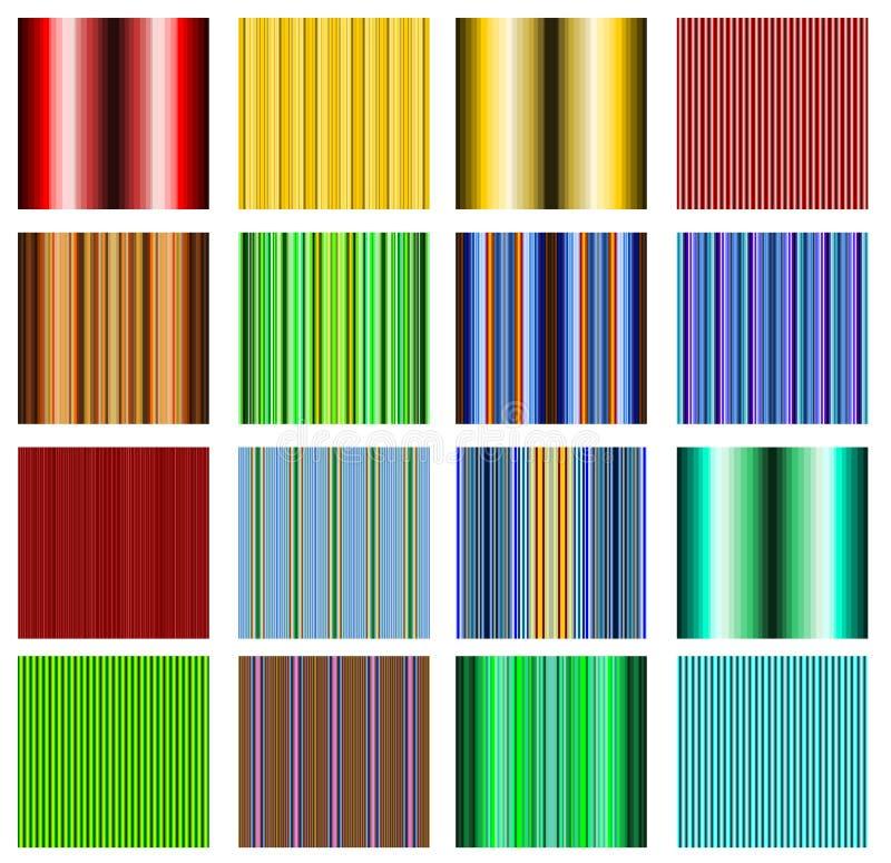Flippiges Retro- Muster stock abbildung