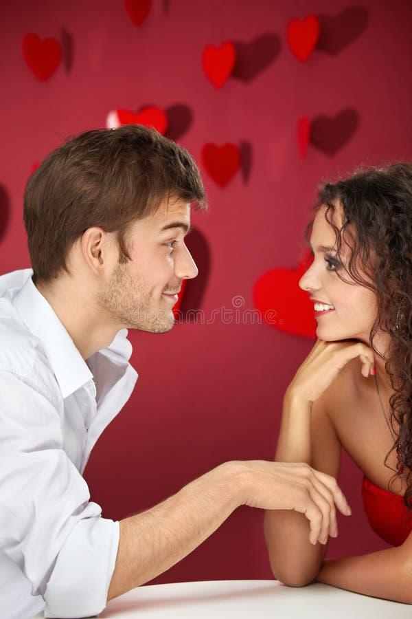 flirt fotografia stock