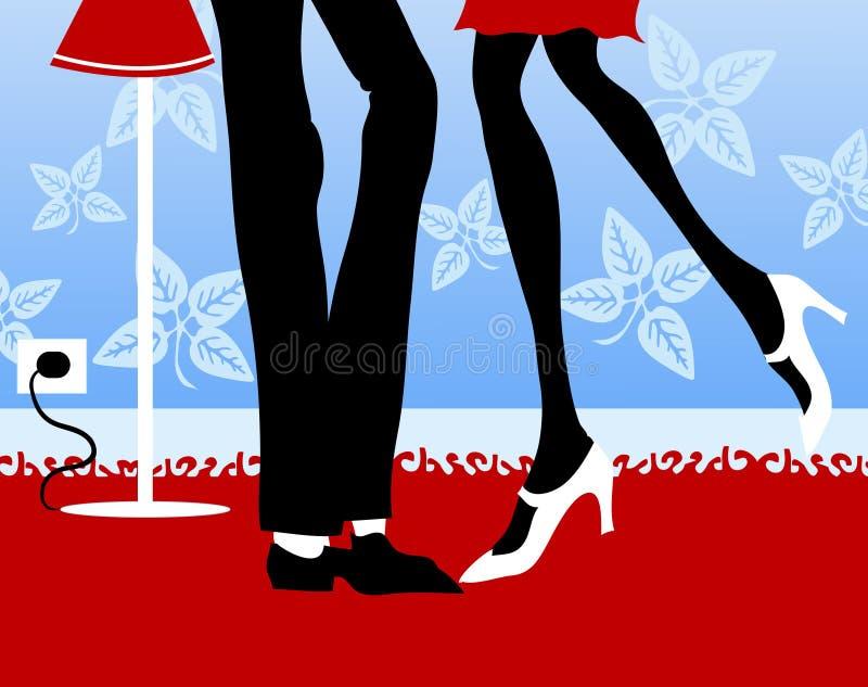 flirt ilustracji