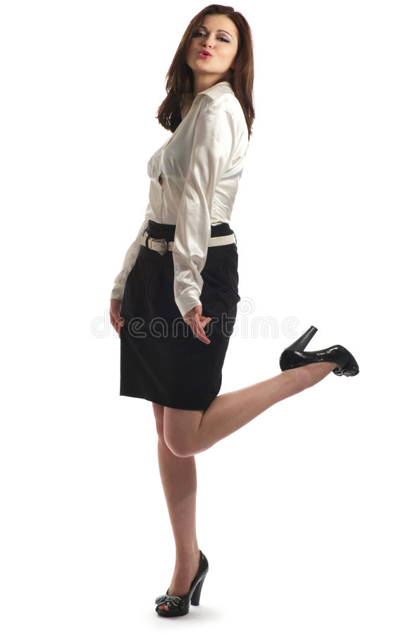 Flirtatious Stock Photography