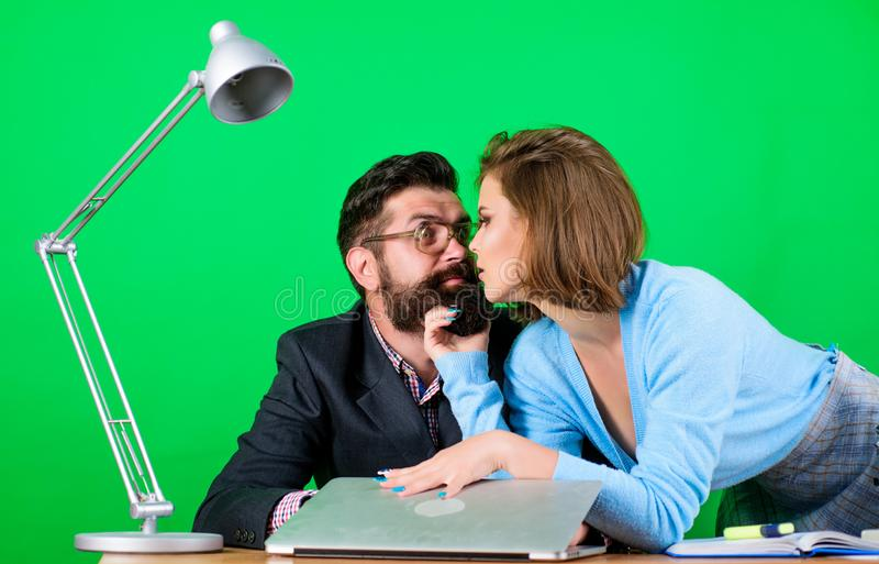 flirter avec son prof