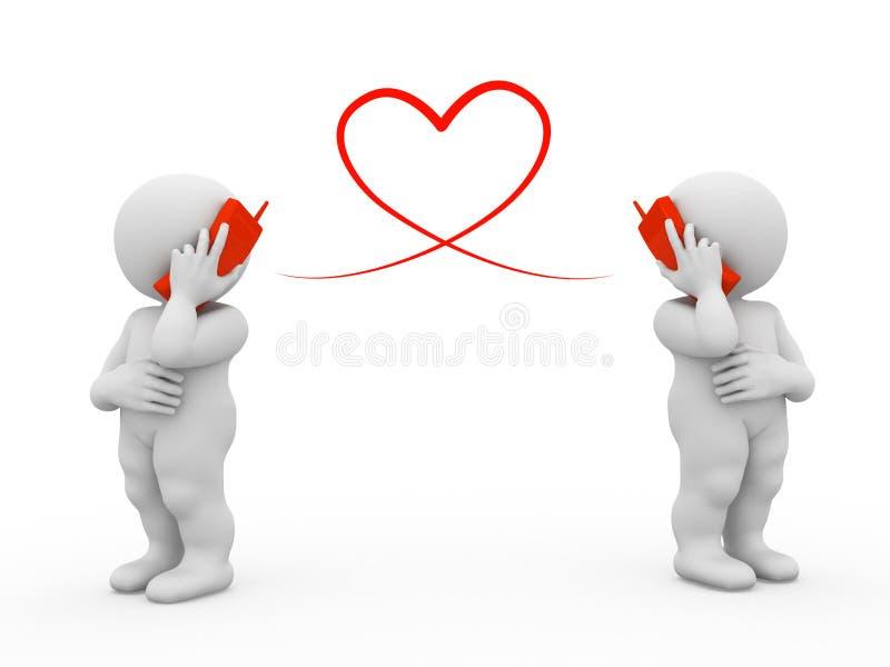 flirting телефон бесплатная иллюстрация