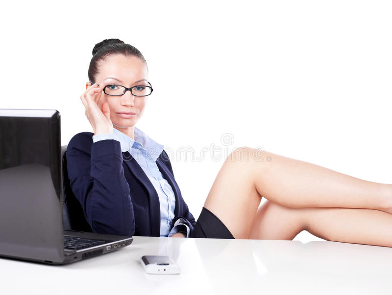 Download Flirting Business Woman Stock Images - Image: 24294564