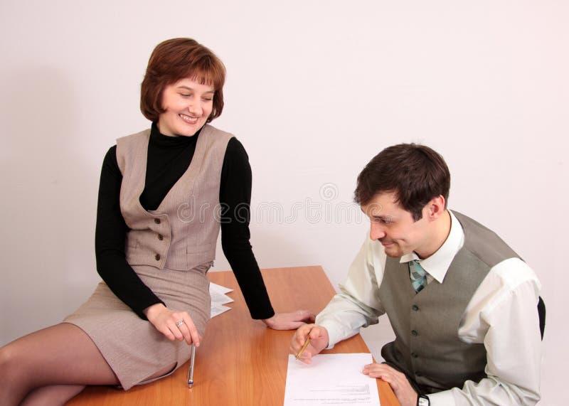flirtowanie zdjęcie royalty free