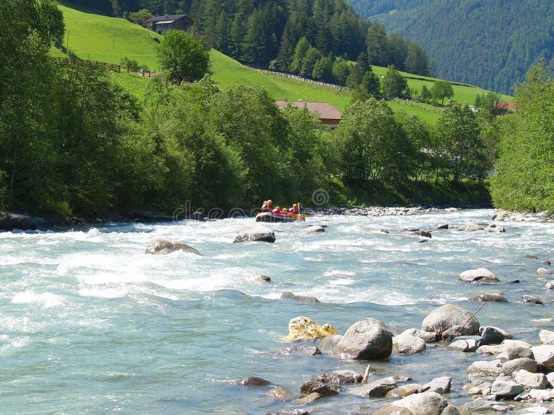 flisactwo rzeki zdjęcia stock