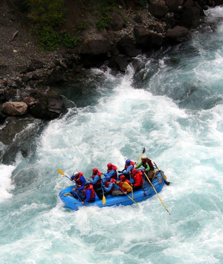 flisactwo rzeki zdjęcie stock