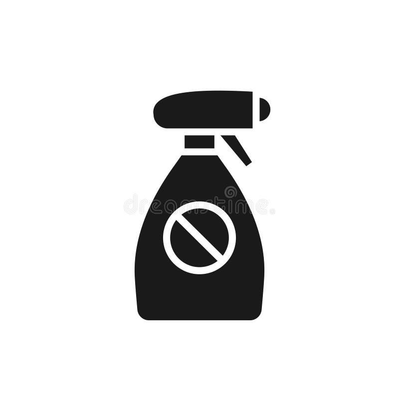 Flit kiści butelka royalty ilustracja
