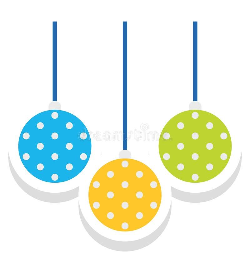 Flitter färbte Vektor-Ikone, die leicht geändert werden oder redigieren kann stock abbildung