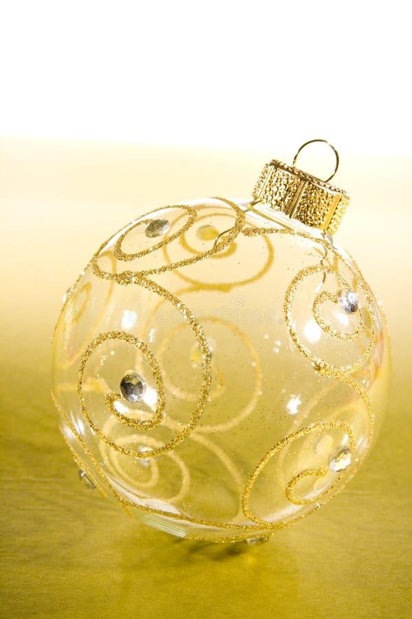 Flitter für Weihnachtsbaumdekorationen lizenzfreie stockfotos