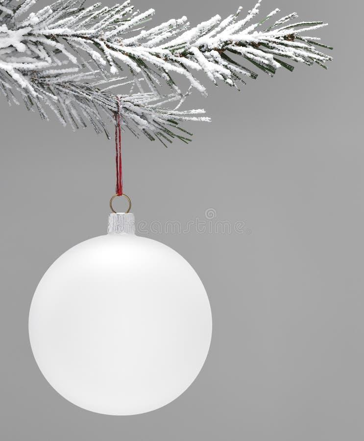 Flitter- und Weihnachtsbaum lizenzfreies stockfoto