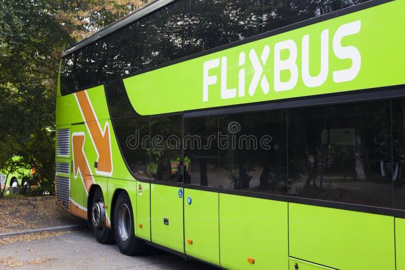FlixBusbus royalty-vrije stock foto's