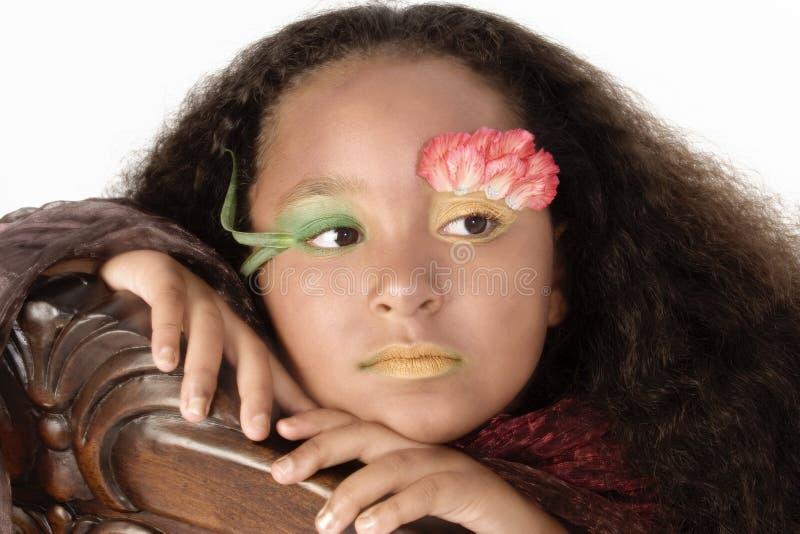 fllower公主 免版税图库摄影