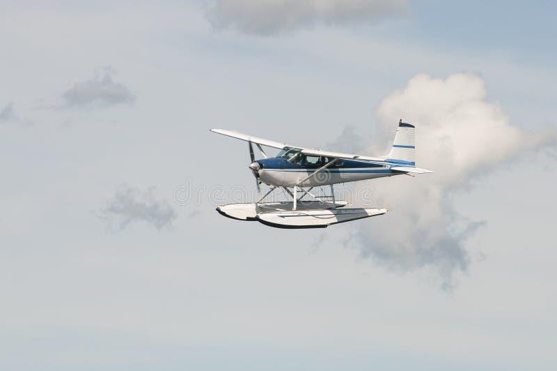 Float plane or seaplane stock photo