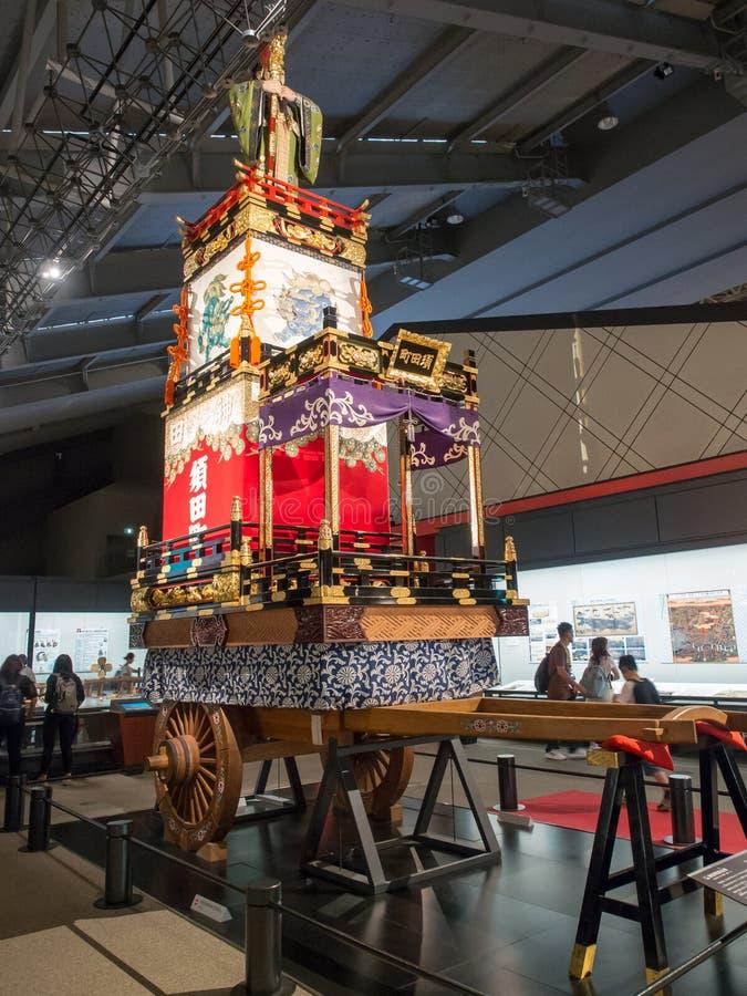 Float Replica in Edo-Tokyo Museum, Japan stock afbeelding
