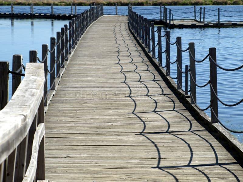 Floating boardwalk at Horicon Marsh, Wisconsin. The floating boardwalk at Horicon Marsh, Wisconsin royalty free stock photo
