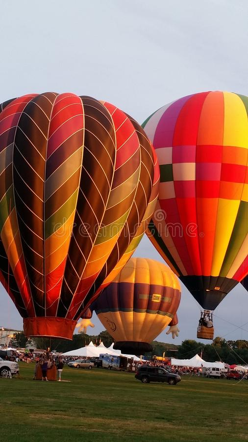 Floating colors royalty free stock photo