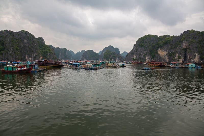 Download Floating fishing village stock photo. Image of cruise - 27065188
