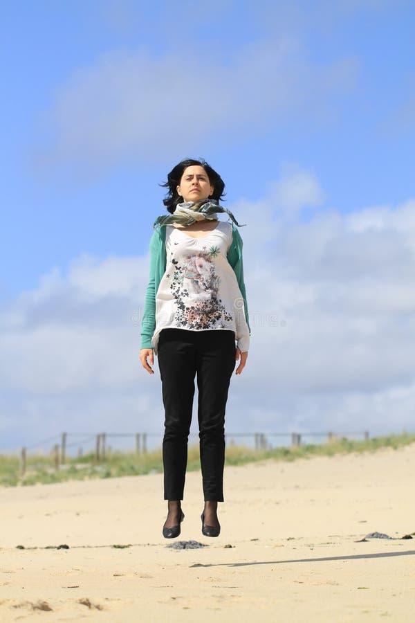 Download Floating Girl stock photo. Image of carefree, balance - 25040740