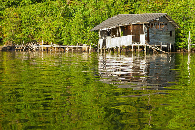 Download Floating Hut stock photo. Image of scene, house, beauty - 25706788