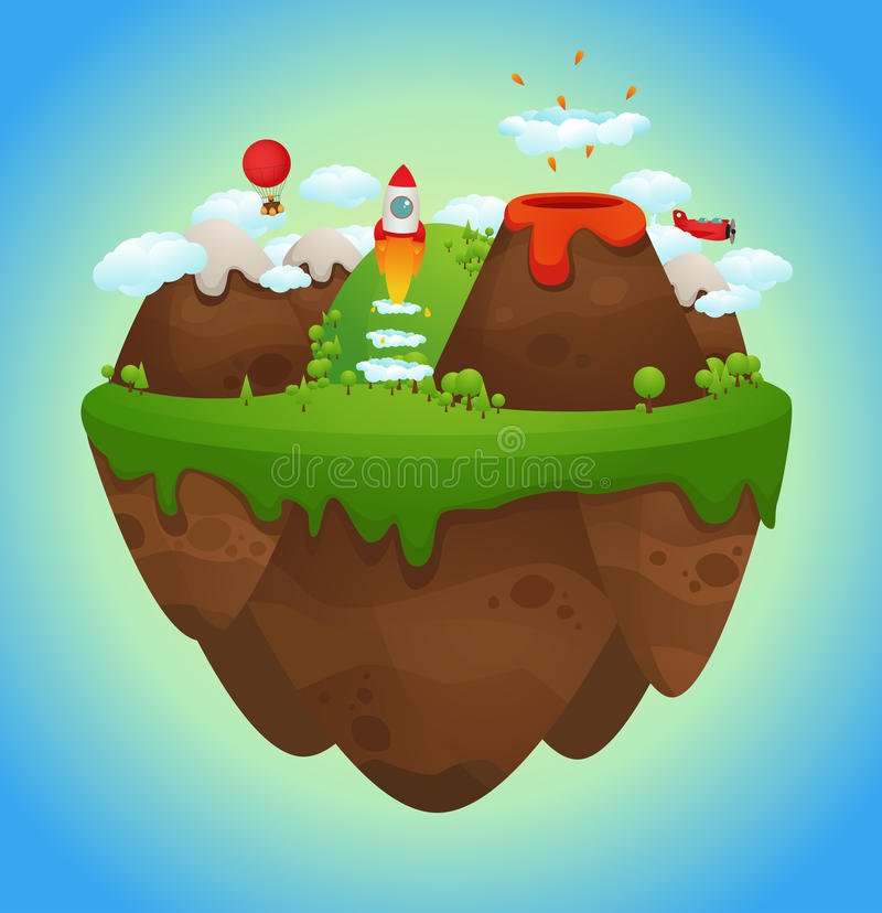Download Floating Island Royalty Free Stock Photography - Image: 23828867