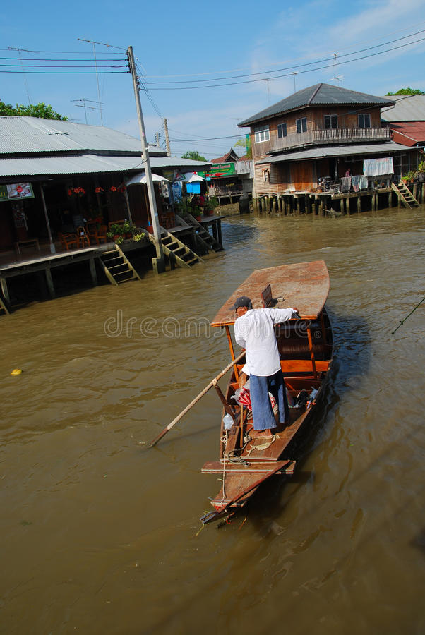 Download Floating market editorial photo. Image of reflection - 20657726