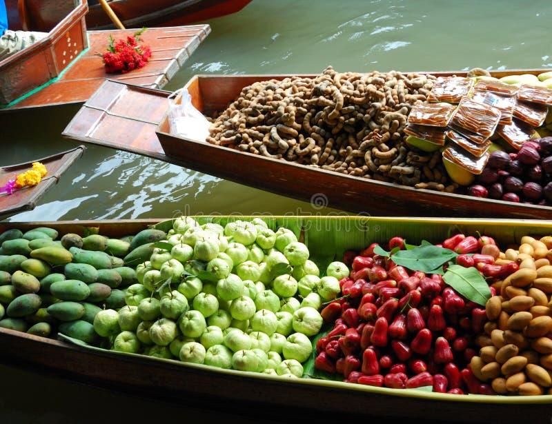 Download Floating market stock image. Image of canal, ananas, papaya - 5549427