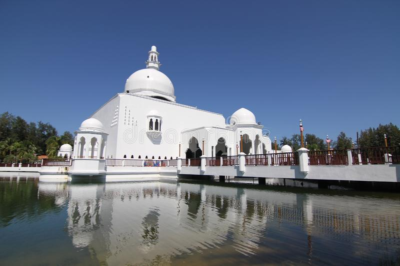 Floating mosque royalty free stock images