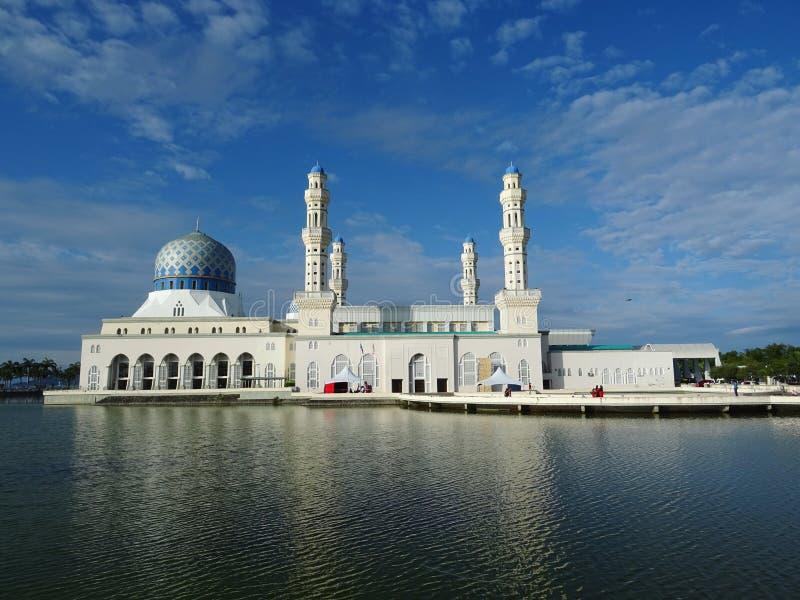 Floating Mosque,Kota Kinabalu stock photography
