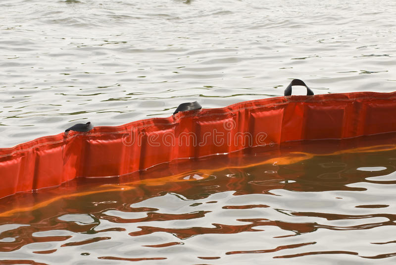 Download Floating Oil Boom Royalty Free Stock Photos - Image: 27286918