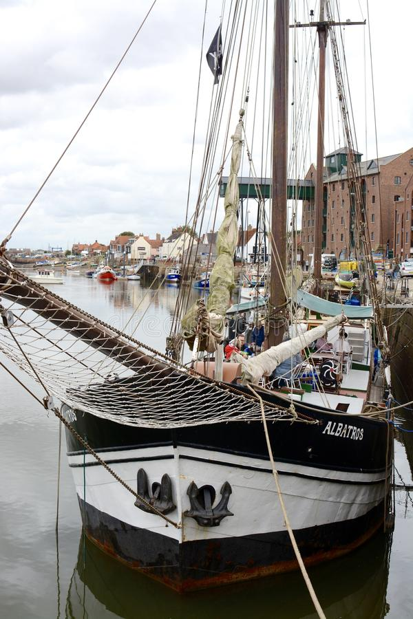Wells-next-the-sea ship stock images