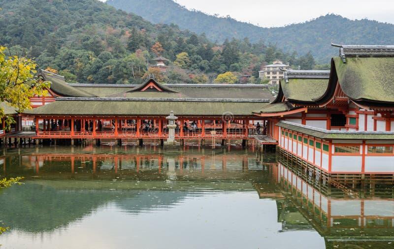 The Floating Shrine on the Sea, Japan stock photos