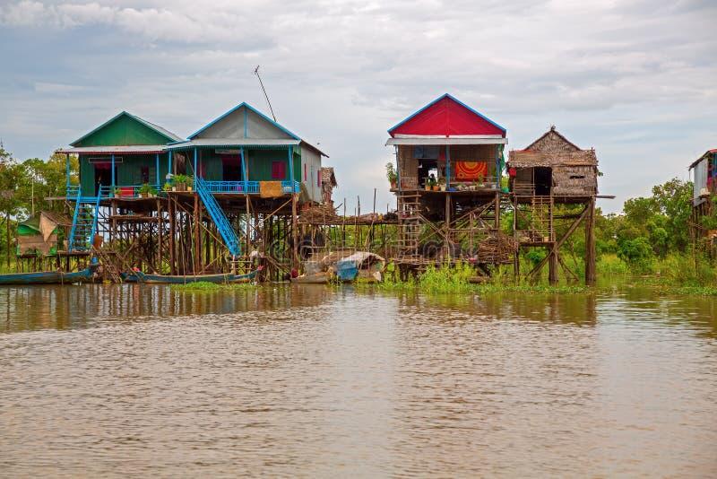 Download Floating village stock image. Image of stilt, floating - 26819253