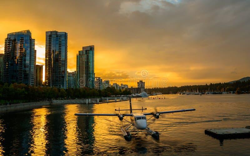 Floatplane Vancouver zdjęcie royalty free