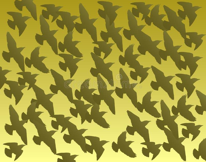 flock stock illustrationer
