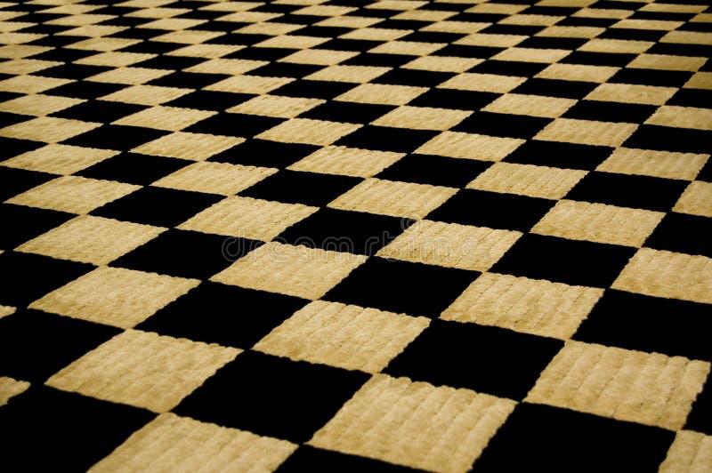 Flockiges Schachbrett lizenzfreies stockfoto