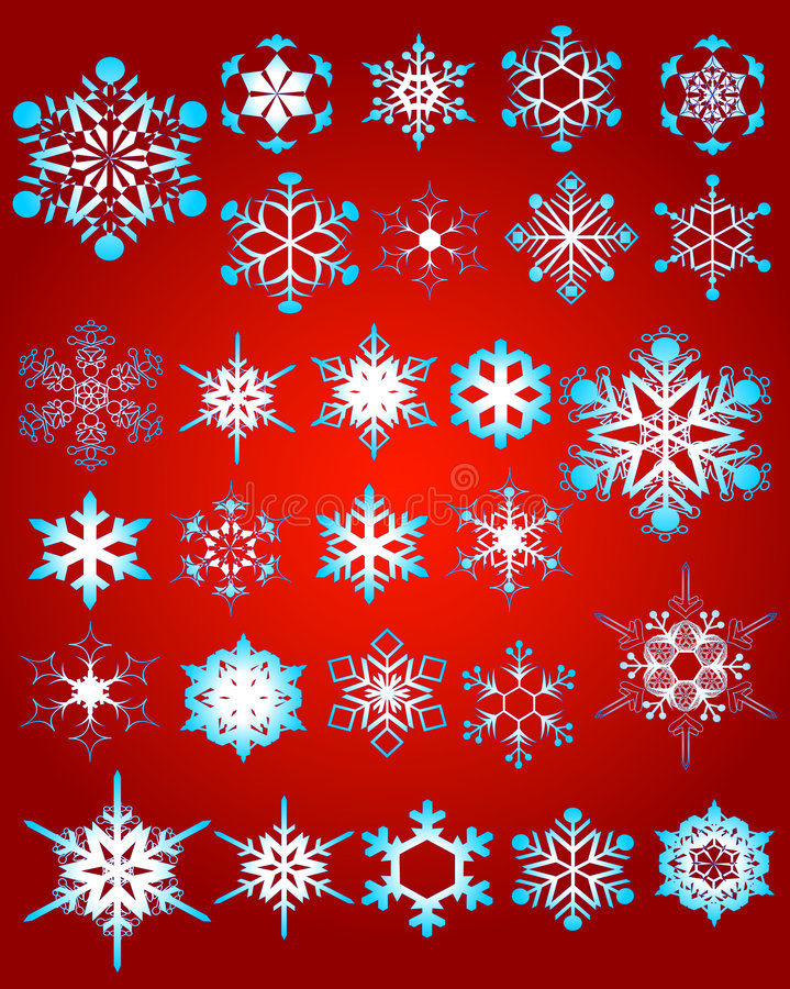 Floco de neve 03 ilustração royalty free