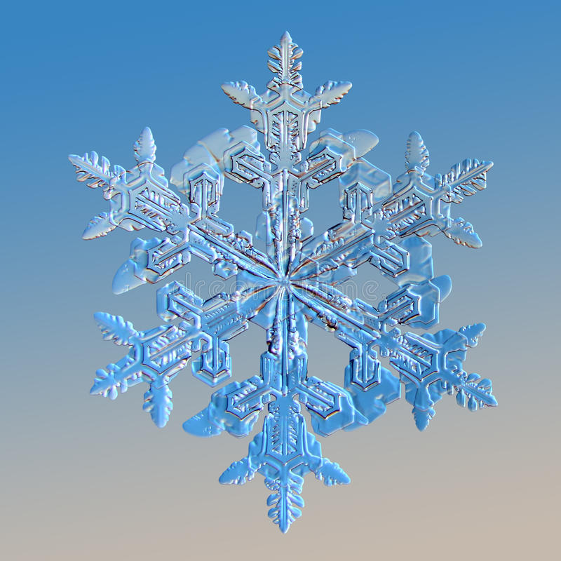 Floco de neve fotos de stock