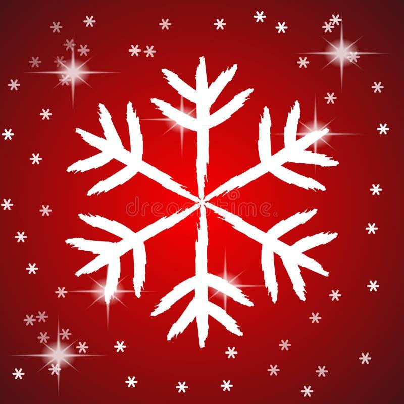 Download Floco de neve ilustração do vetor. Ilustração de forma - 16854727