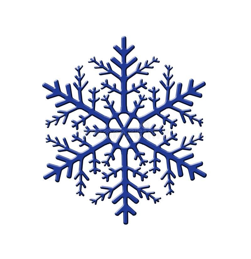 Floco de neve decorativo imagem de stock royalty free