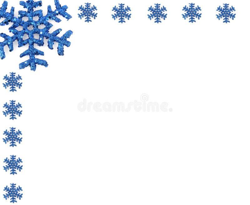 Floco de neve do Natal com flocos de neve pequenos fotos de stock royalty free