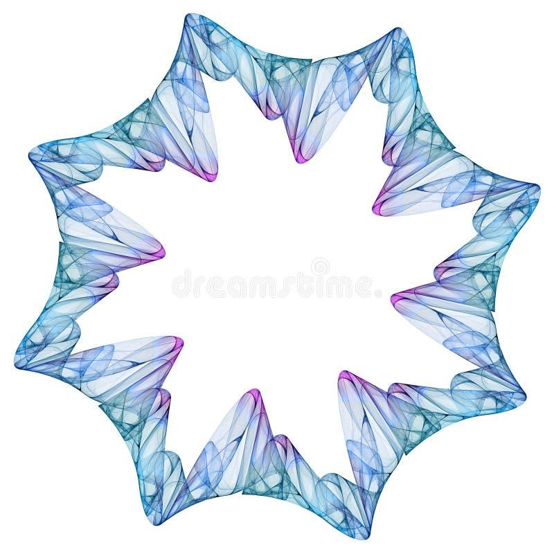 Floco de neve espiritual ilustração royalty free