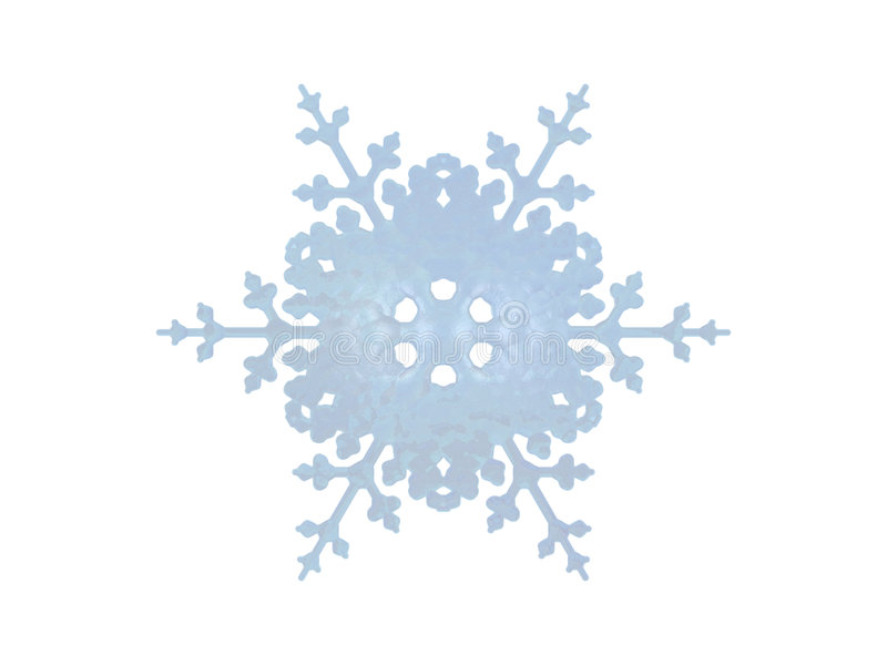 Flocon de neige illustration stock