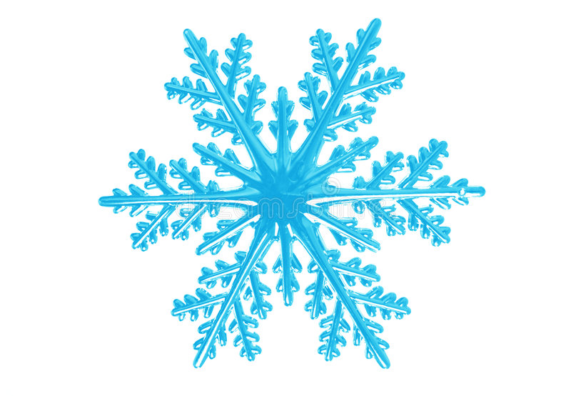 Flocon de neige image stock