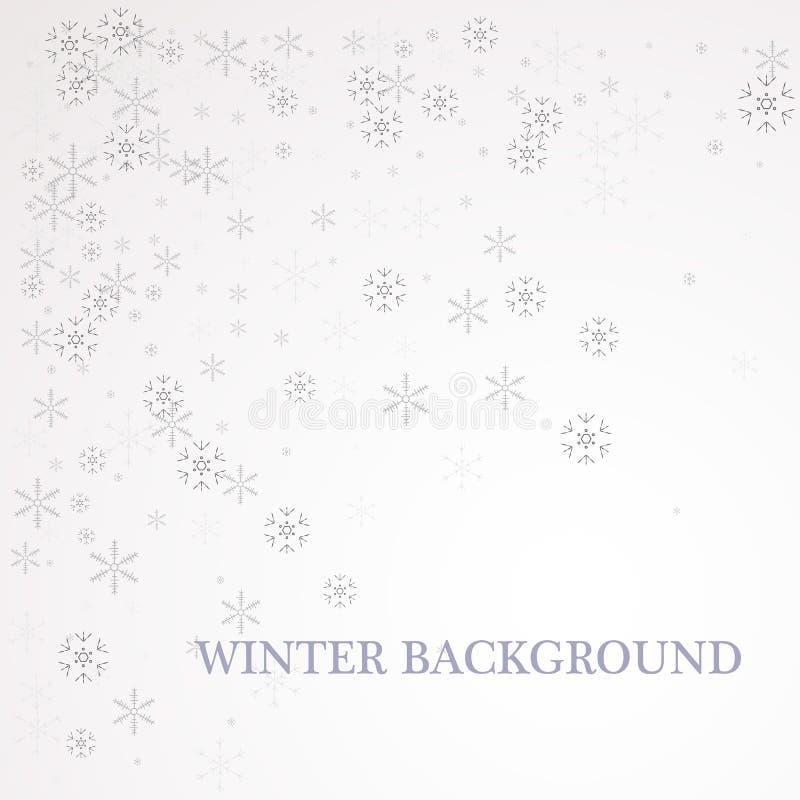 Flocon de neige avec la texture de scintillement d'or Noël, décoration éclatante d'or d'ornement de nouvelle année sur le fond tr illustration de vecteur